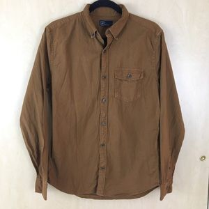 *3 for $15* GAP Slim Fit Button Down in Khaki